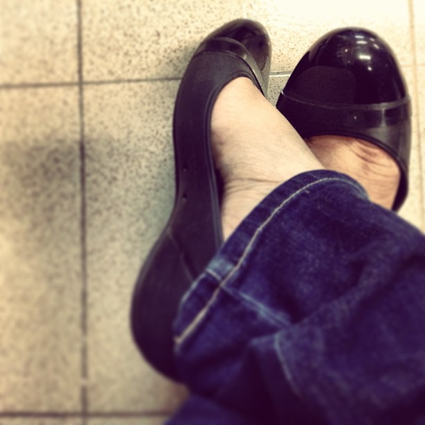 Crocs Cape Toe Flat Black